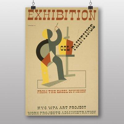Big Box Art Exhibition No.36 Vintage Advertisement