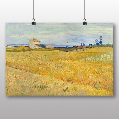Big Box Art 'Wheat Field' by Vincent Van Gogh Art Print
