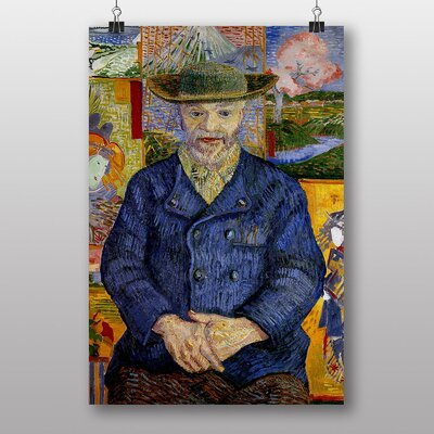 Big Box Art Portrait of Pecre Tanguy by Vincent Van Gogh Art Print