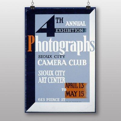 Big Box Art Vintage WPA Camera Club Vintage Advertisement