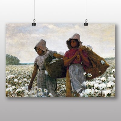 Big Box Art 'The Cotton Pickers' by Winslow Homer Art Print
