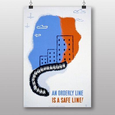 Big Box Art An Orderly Line Vintage Advertisement