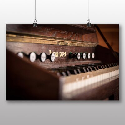 Big Box Art Vintage Keyboard Photographic Print