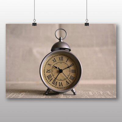 Big Box Art Vintage Clock Photographic Print