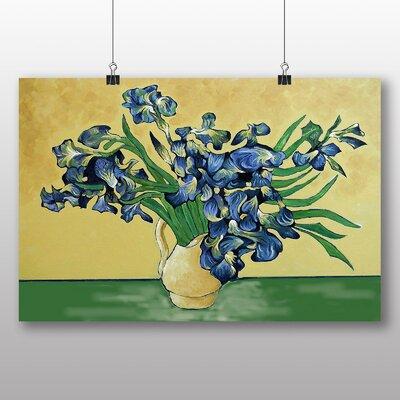 Big Box Art 'Iris Irises Flowers No.2' by Vincent Van Gogh Art Print
