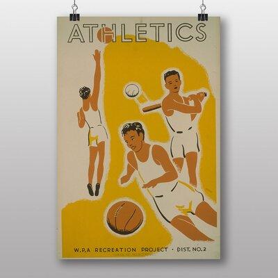 Big Box Art Athletics Vintage Advertisement