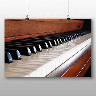 Big Box Art Vintage Piano No.1 Photographic Print on Canvas