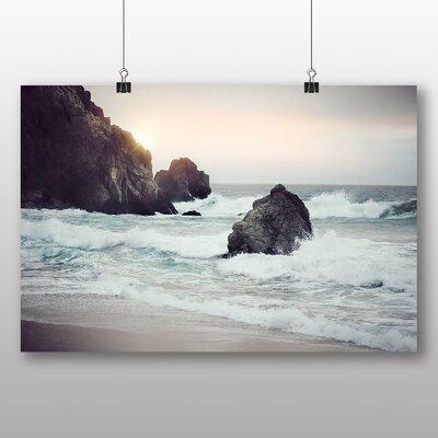 Big Box Art Waves Photographic Print