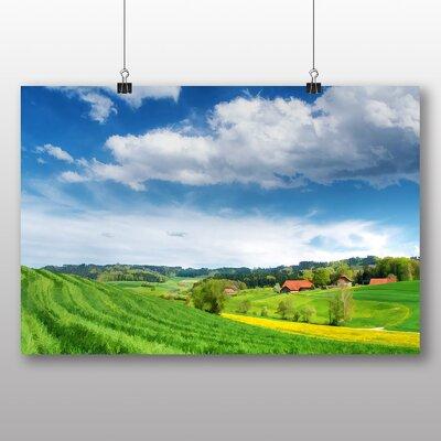 Big Box Art Switzerland Landscape No.2 Photographic Print Wrapped on Canvas