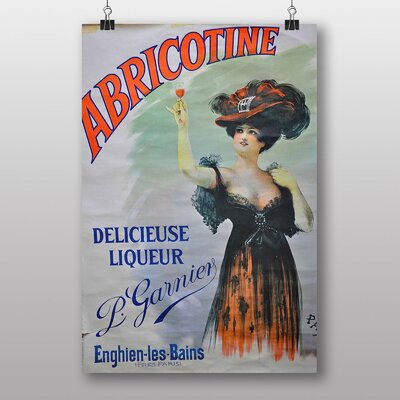 Big Box Art Abricotine Vintage Advertisement