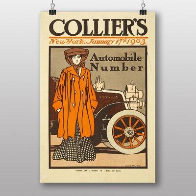 Big Box Art Colliers Vintage Advertisement
