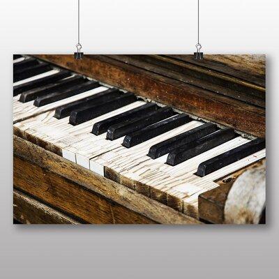 Big Box Art Vintage Piano No.5 Photographic Print