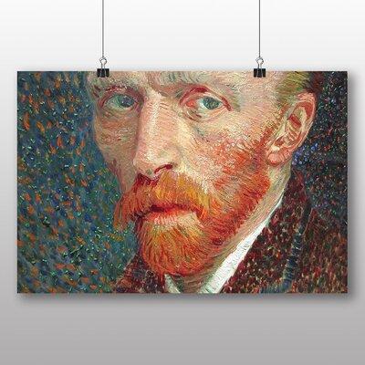 Big Box Art 'Self Portrait No.5' by Vincent Van Gogh Art Print