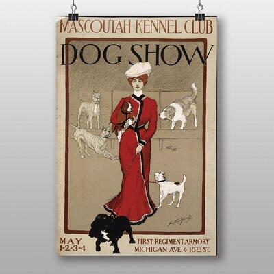 Big Box Art Mascoutah Dog Show Vintage Advertisement