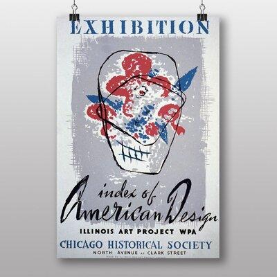 Big Box Art Exhibition No.44 Vintage Advertisement