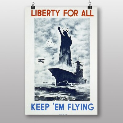 Big Box Art Liberty for All Vintage Advertisement