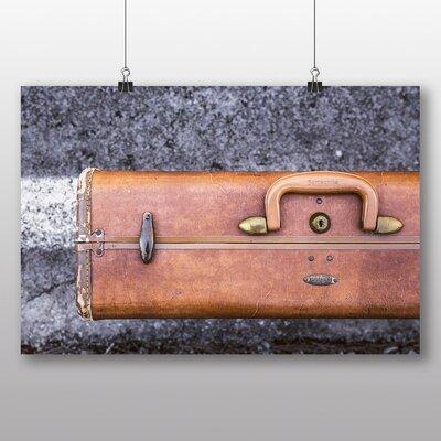 Big Box Art 'Vintage Brown Suitcase' Photographic Print