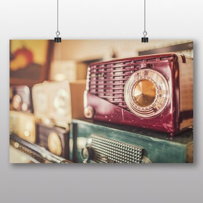 Big Box Art 'Vintage Radios' Photographic Print