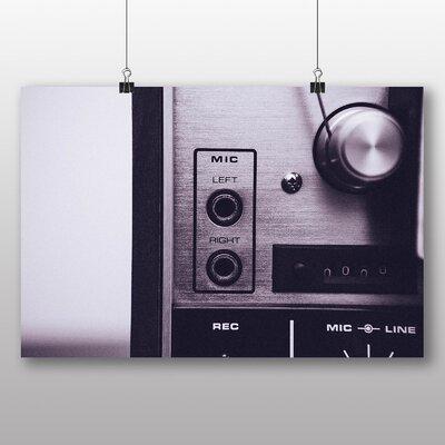 Big Box Art 'Vintage Music Player No.5' Photographic Print