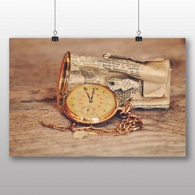 Big Box Art Vintage Pocket Watch No.1 Photographic Print