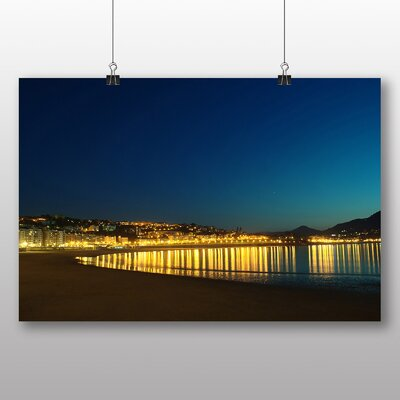 Big Box Art The Concha Bay San Sebastian Spain Photographic Print