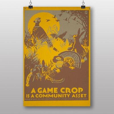 Big Box Art A Game Crop Vintage Advertisement