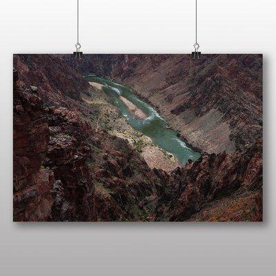 Big Box Art The Grand Canyon No.5 Photographic Print on Canvas