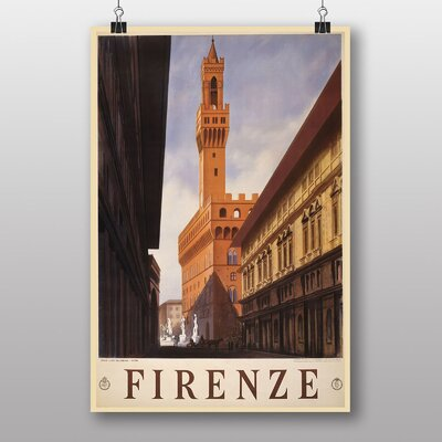 Big Box Art Firenze Vintage Advertisement