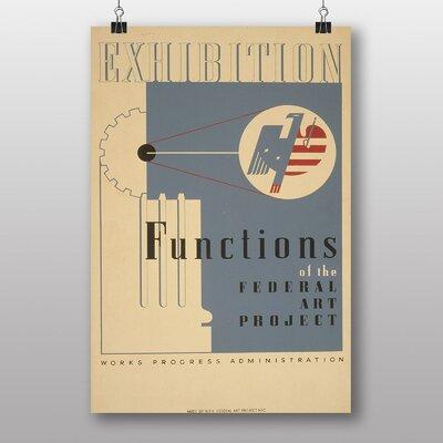 Big Box Art Exhibition No.34 Vintage Advertisement