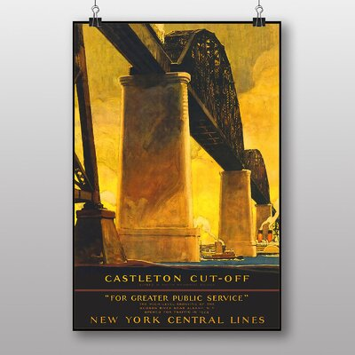 Big Box Art New York Vintage Advertisement