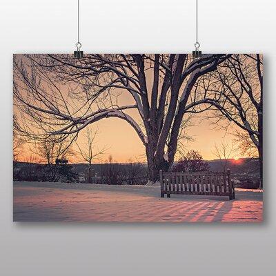 Big Box Art 'The Park at Winter' Photographic Print