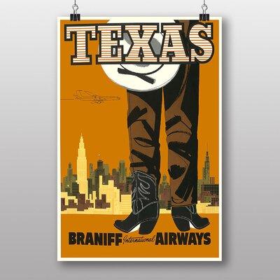 Big Box Art Texas Vintage Advertisement