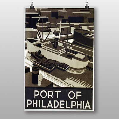 Big Box Art Philadelphia No.1 Vintage Advertisement