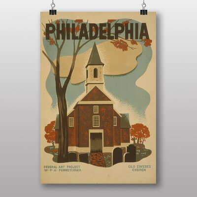 Big Box Art Philadelphia No.4 Vintage Advertisement