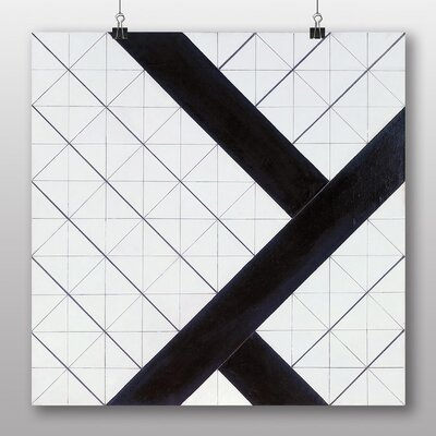 Big Box Art 'Composition VI' by Theo Van Doesburg Graphic Art