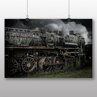 Big Box Art Vintage Steam Train No.1 Photographic Print