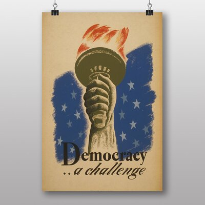 Big Box Art Democracy Vintage Advertisement