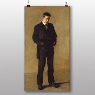 Big Box Art 'The Thinker' by Thomas Eakins Art Print