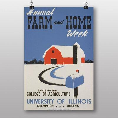 Big Box Art Farm and Home Vintage Advertisement