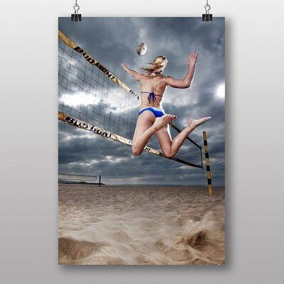 Big Box Art Volleyball Photographic Print