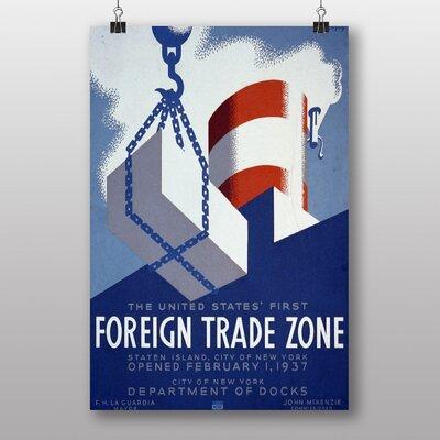 Big Box Art Foreign Trade Zone No.2 Vintage Advertisement