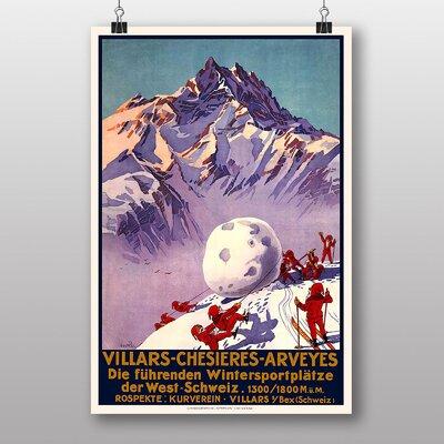 Big Box Art Villars Vintage Advertisement