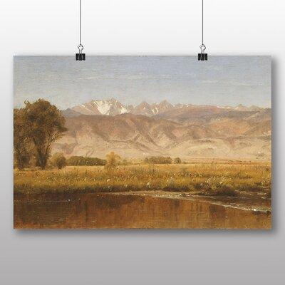 Big Box Art 'Foothills of Colorado' by Thomas Worthington Whittredge Art Print