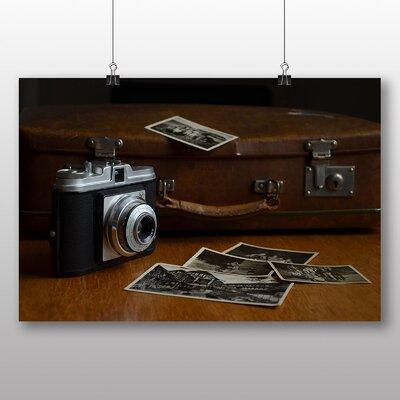 Big Box Art Vintage Retro Camera No.5 Photographic Print on Canvas