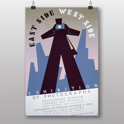 Big Box Art East Side West Side Vintage Advertisement