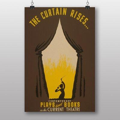 Big Box Art The Curtain Rises Graphic Art