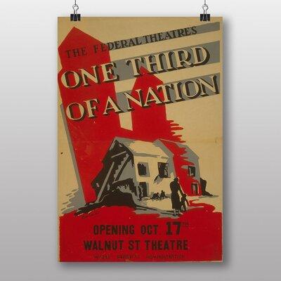 Big Box Art One Third of a Nation No.2 Vintage Advertisement