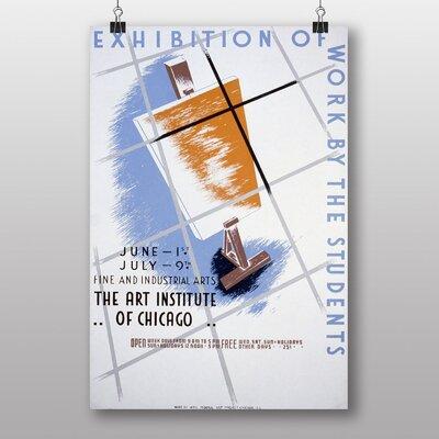 Big Box Art Exhibition No.24 Vintage Advertisement