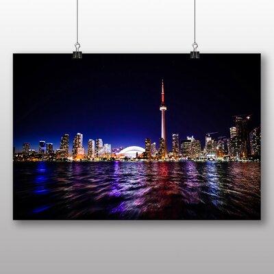 Big Box Art Toronto Skyline Canada Photographic Print