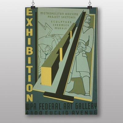 Big Box Art Exhibition No.41 Vintage Advertisement